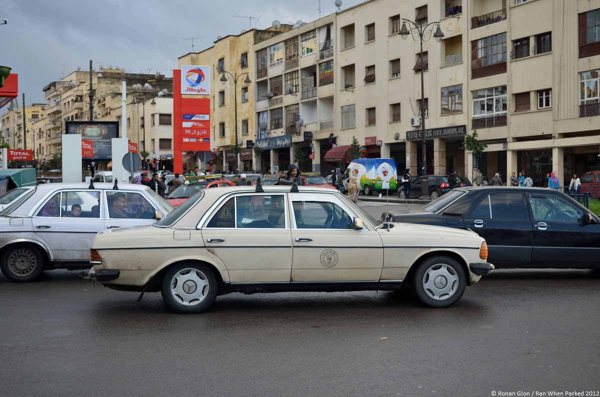 Morocco Encouraging Taxi Drivers To Scrap Mercedes W123s