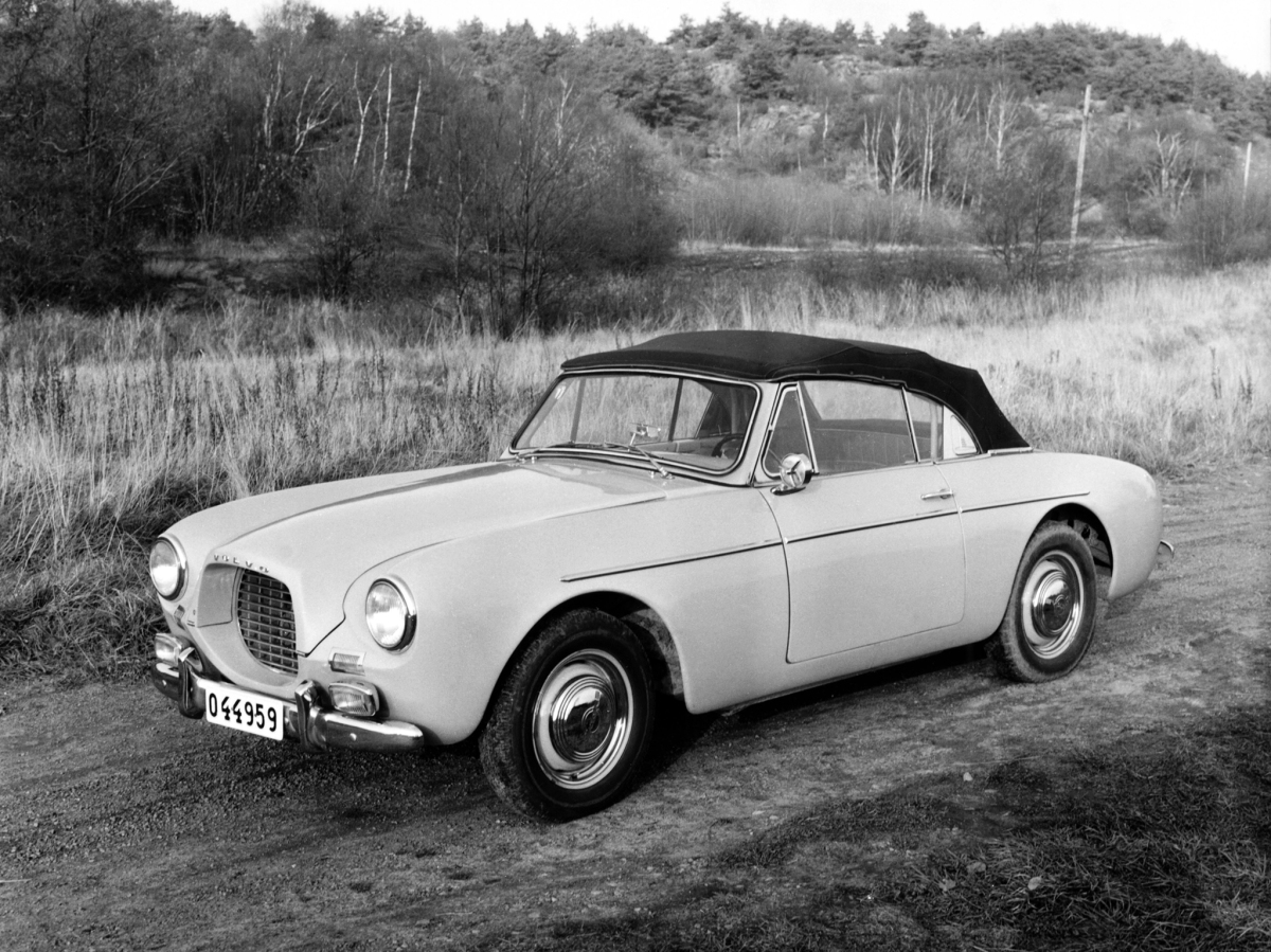 60 years ago: Volvo launches the P1900 Sport | Ran When Parked