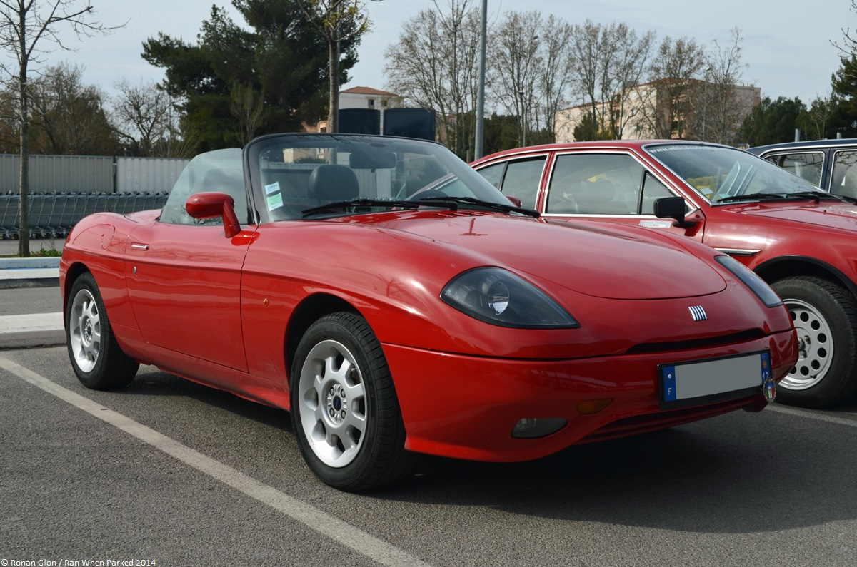 Is The Fiat Barchetta A Future Classic Ran When Parked 124 Coupe Wiring Diagram 7