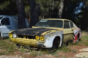 Rust in peace: Ford Capri RS2600