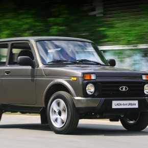 Facelifted Lada Niva Urban leaked