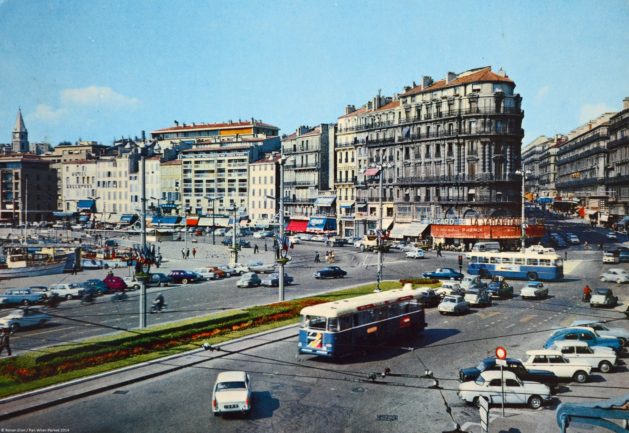 Rewind To Marseille France In The Early 1960s on vw old cars