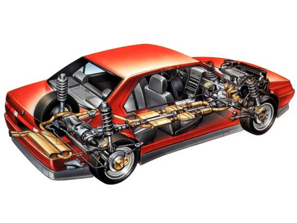 alfa-romeo-164-q4-cutaway