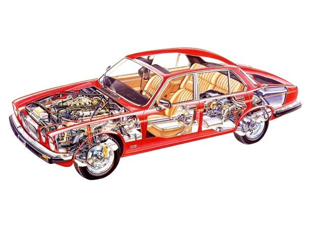 jaguar-xj-cutaway
