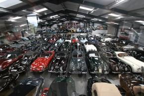 Jaguar – Land Rover buys James Hull's massive carcollection