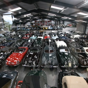 Jaguar – Land Rover buys James Hull's massive car collection