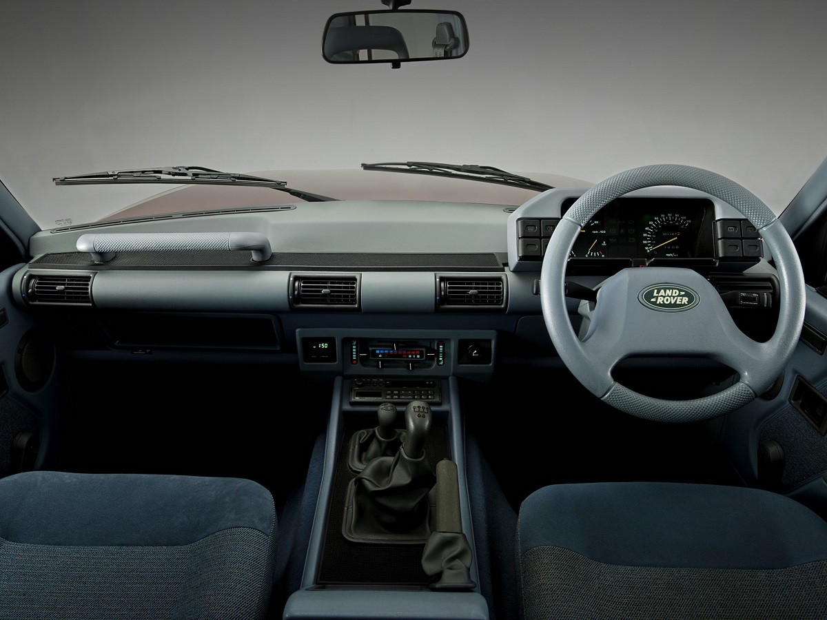 Land Rover Discovery Mk Interior on Mercedes Benz 450sel 6 9