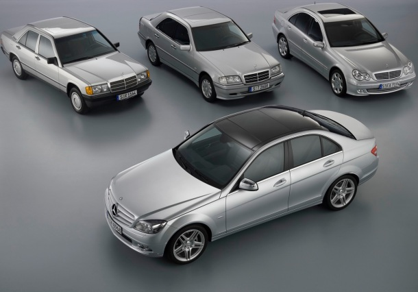 mercedes-benz-c-class-family-tree