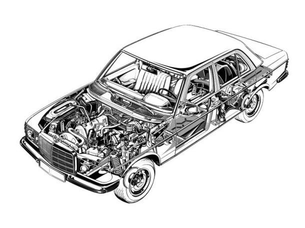 mercedes-benz-w123-cutaway