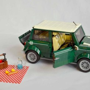 Lego and BMW reveal 1,077-part Mini Cooper