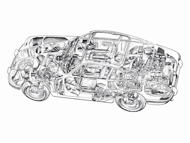 porsche-911-cutaway