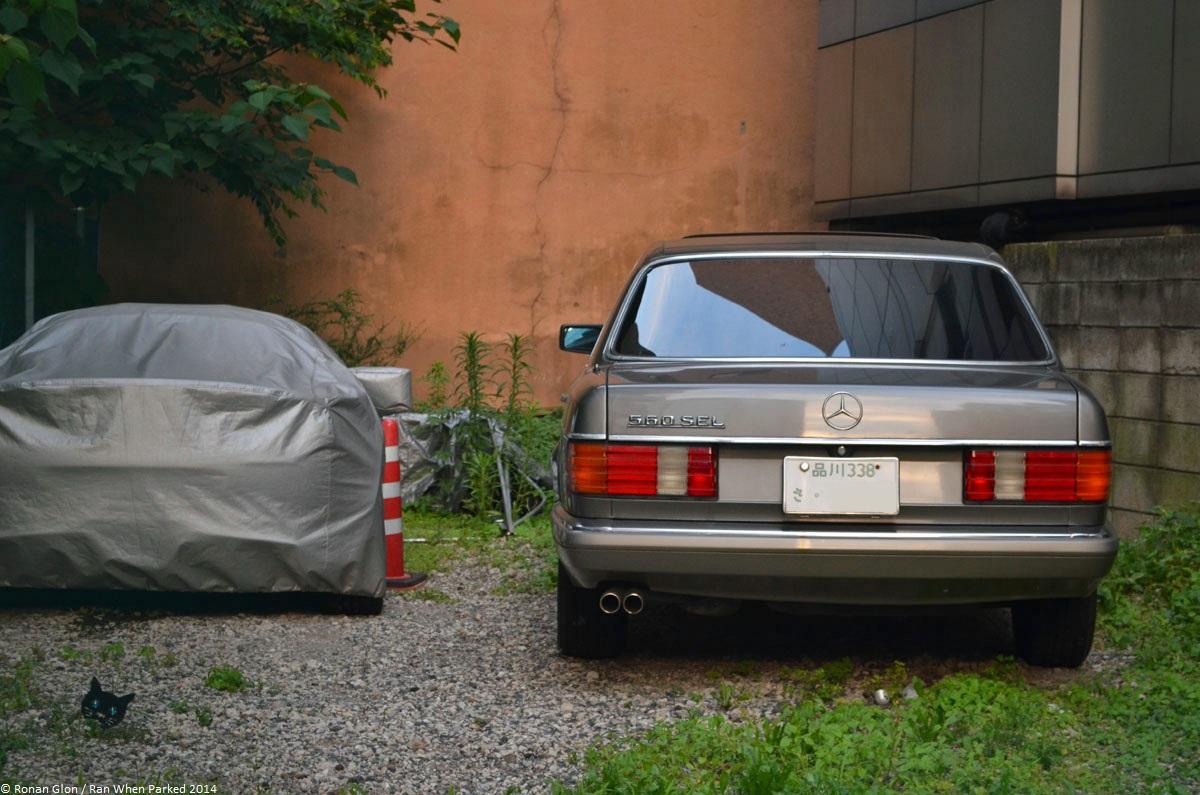 Ranwhenparked Japan Mercedes Benz 560 Sel W126 Ran When