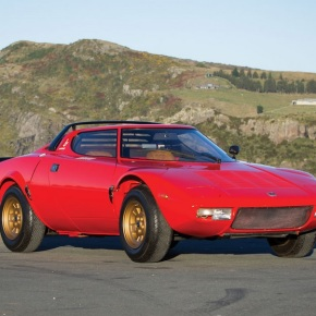 All-original 1974 Lancia Stratos HF Stradale headed to auction