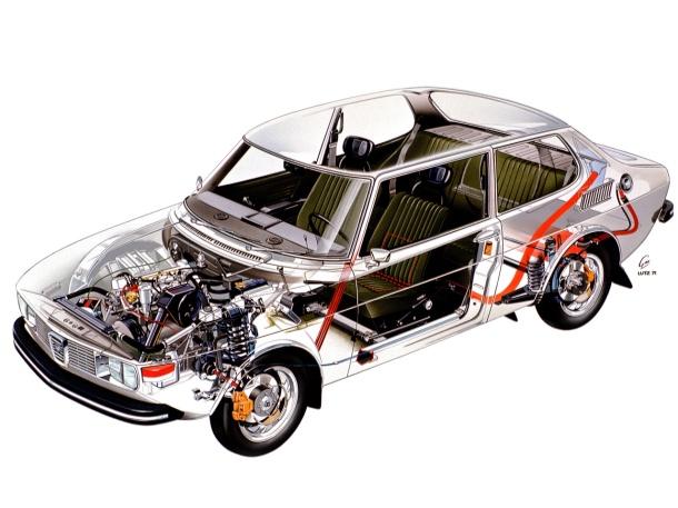 saab-99-cutaway