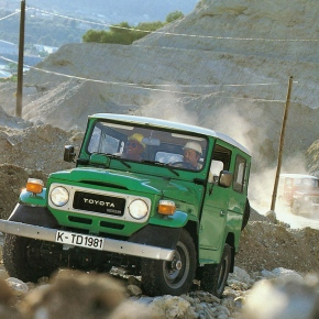 Caption contest: Toyota Land Cruiser BJ40