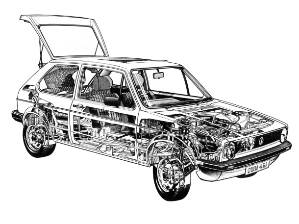 volkswagen-golf-mk1-cutaway