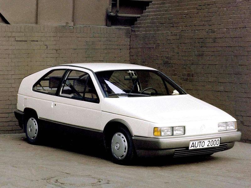 A look at the 1981 volkswagen auto 2000 concept update for Mercedes benz volkswagen