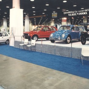 Time traveling: 1980s European cars at the Chicago Motor Show