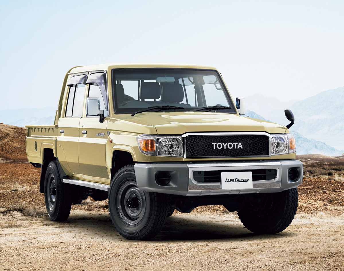 Toyota Re Releases Land Cruiser 70 In Japan To Celebrate