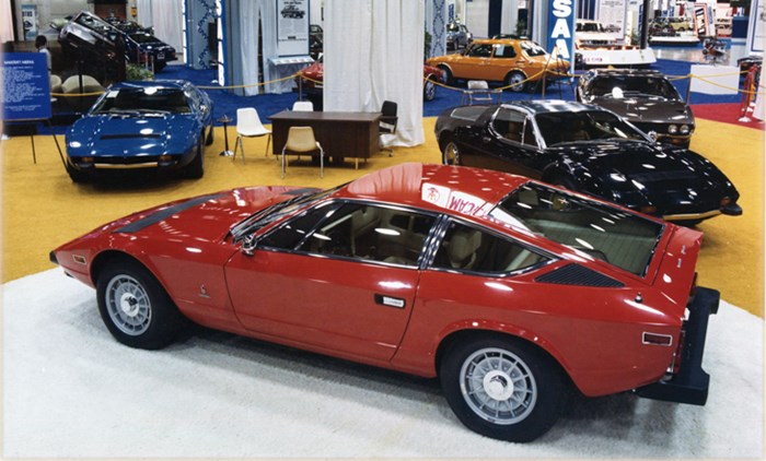 Chicago Motor Show 1975 Maserati 1 Ran When Parked