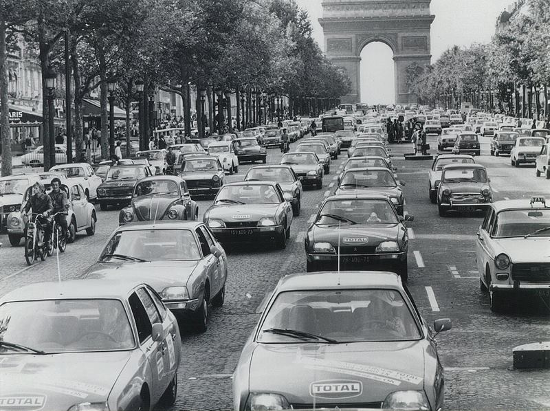 Rewind To Paris France In 1974 Ran When Parked