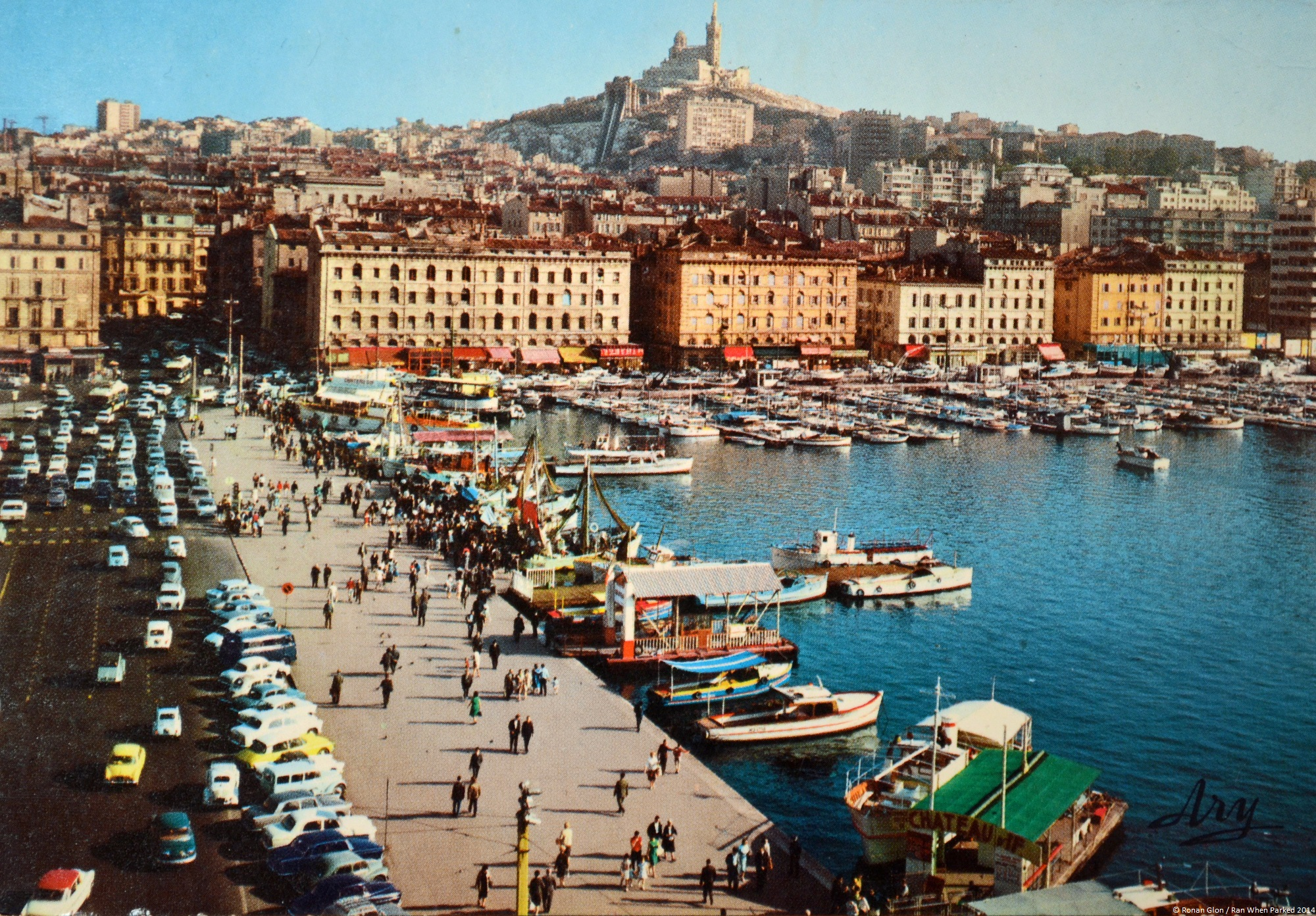 rewind to marseille france in the mid 1960s ran when parked