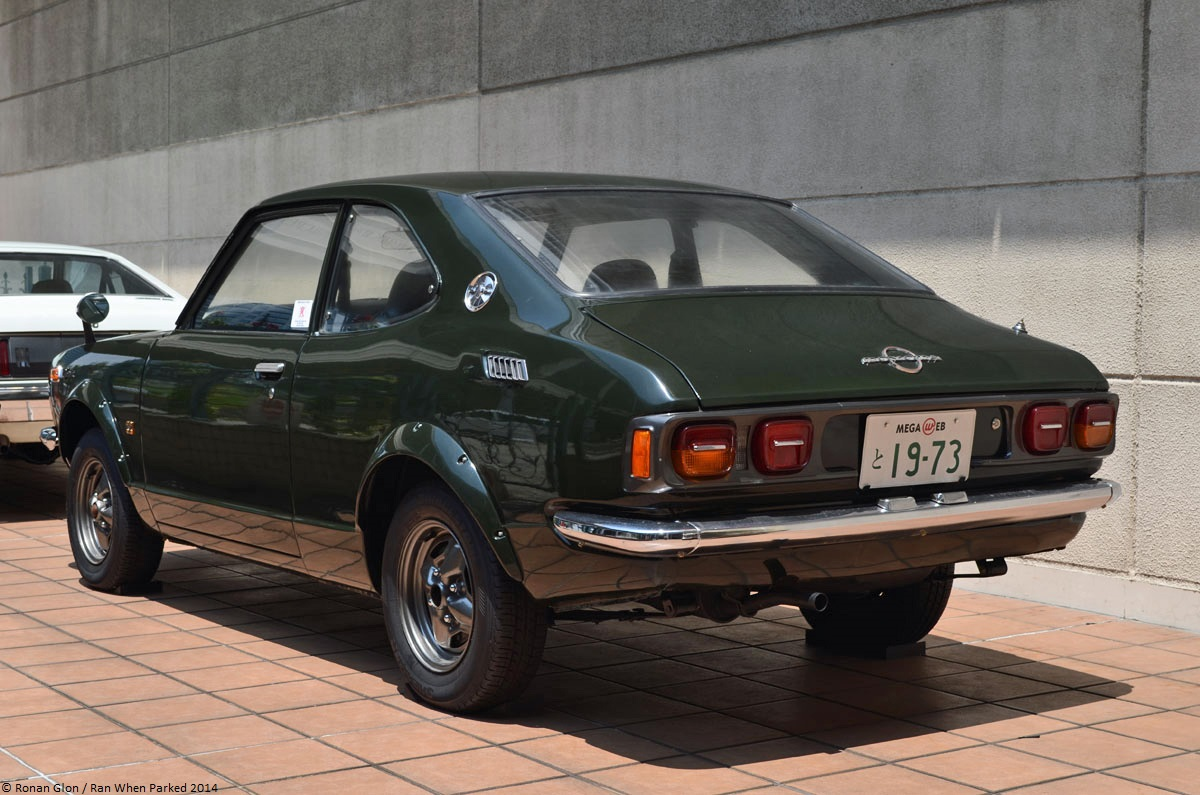 toyota history garage toyota trueno te27 2 ran when parked. Black Bedroom Furniture Sets. Home Design Ideas