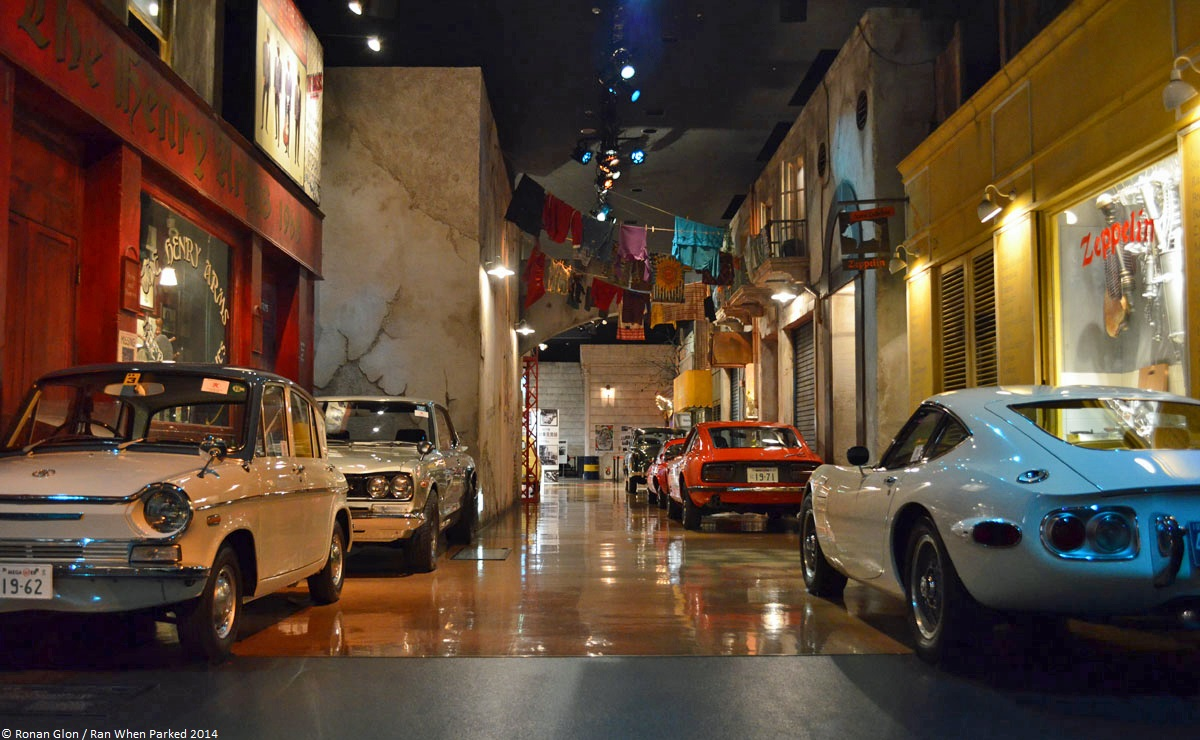 garage barn ideas - Ran When Parked visits Toyota's History Garage museum in