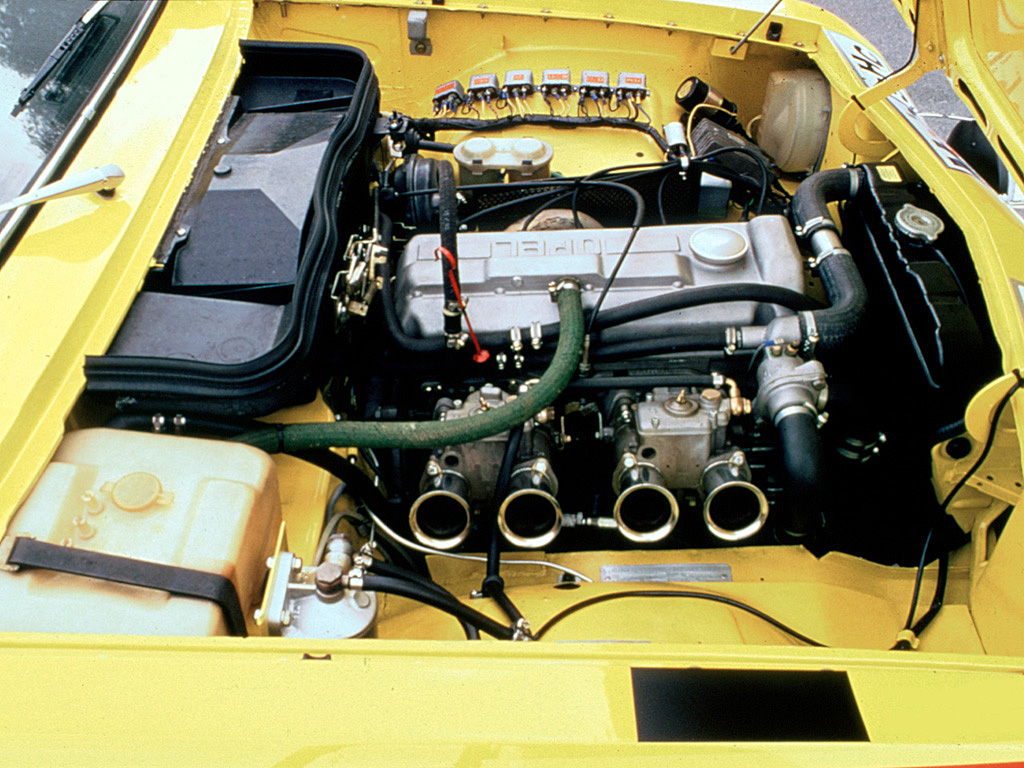 Opel Ascona Sr Engine Bay