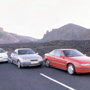 25 years ago: Opel introduces the Calibra