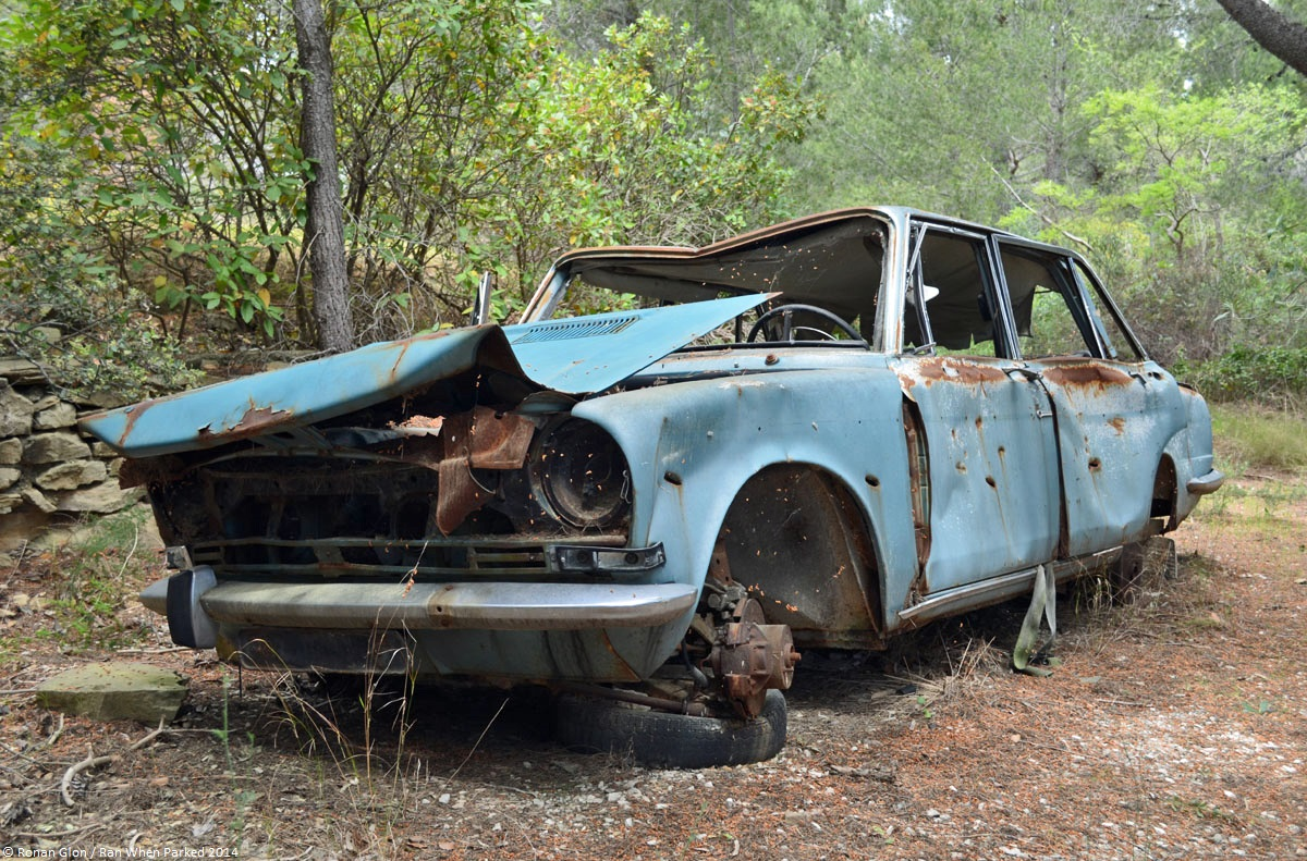 Rust In Peace Simca 1501 Ran When Parked