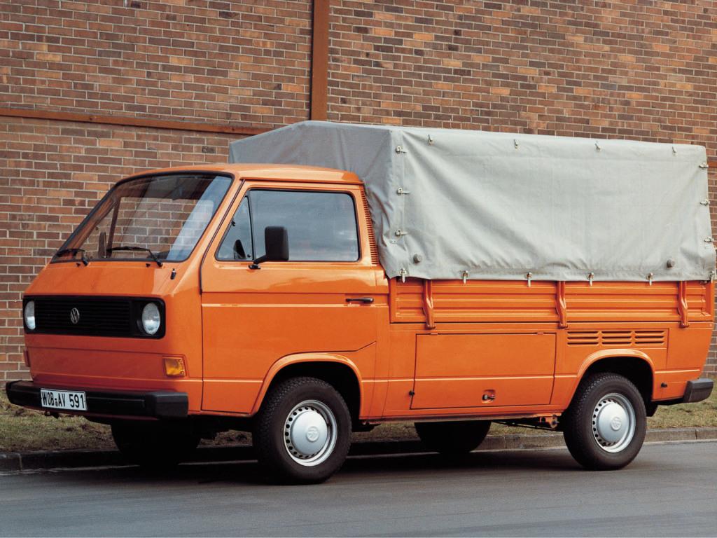 Volkswagen T3 Pickup 1 Ran When Parked