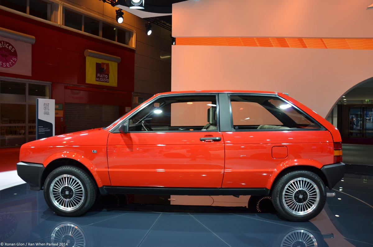 1984 seat ibiza 2 ran when parked. Black Bedroom Furniture Sets. Home Design Ideas