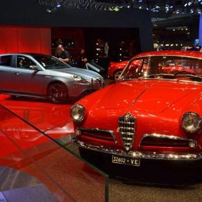 Live from the Paris Motor Show: 1954 Alfa Romeo GiuliettaSprint
