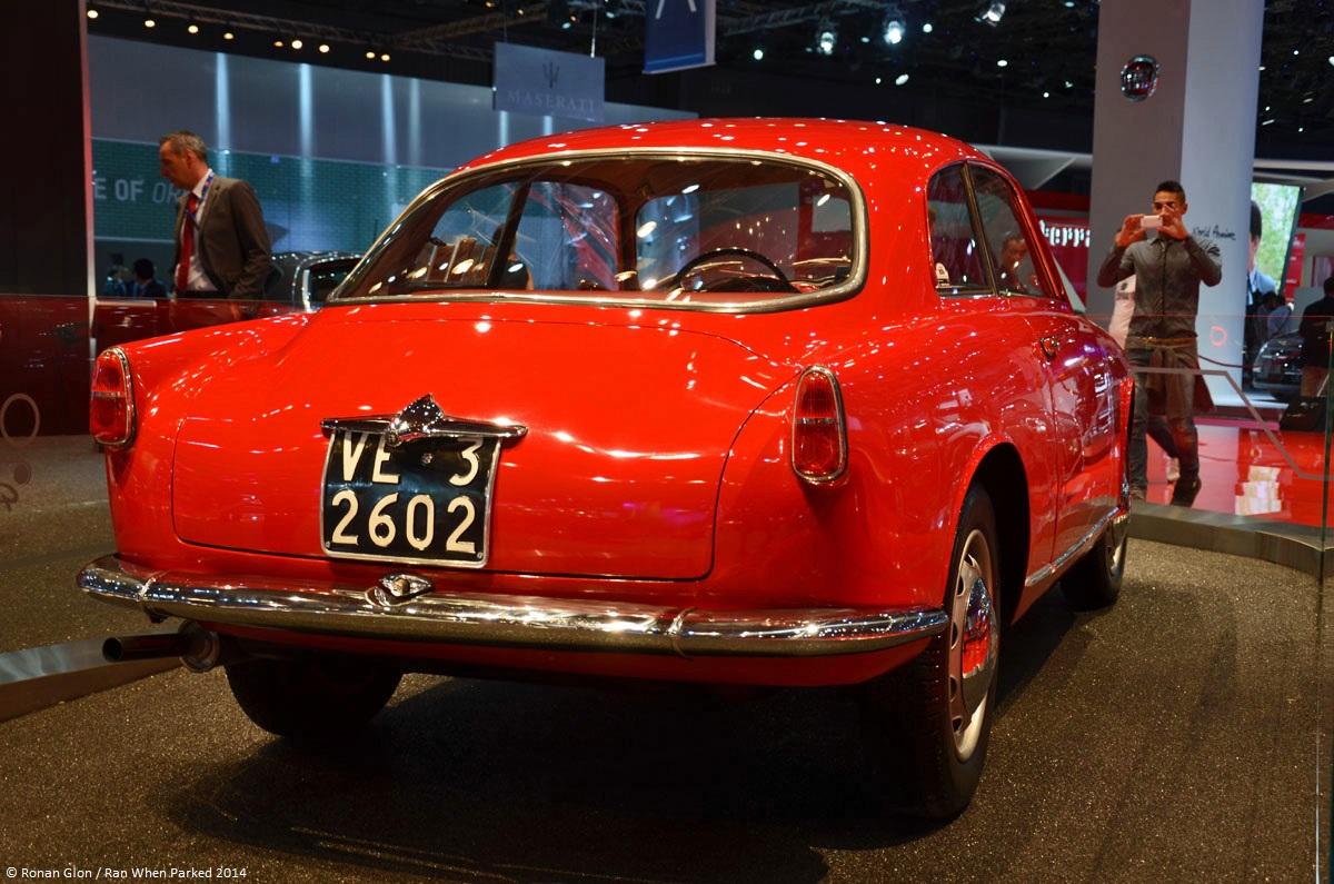 Alfa romeo giulietta sprint 1954 paris motor show 6 ran for Garage alfa romeo paris