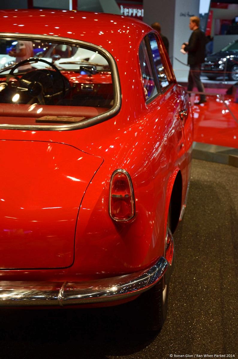 Alfa romeo giulietta sprint 1954 paris motor show 7 ran for Garage alfa romeo paris