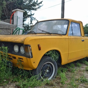 Rust in peace: FSO 125p pickup