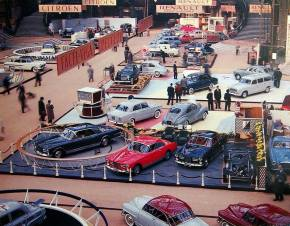 Rewind to the Paris Motor Show in 1957
