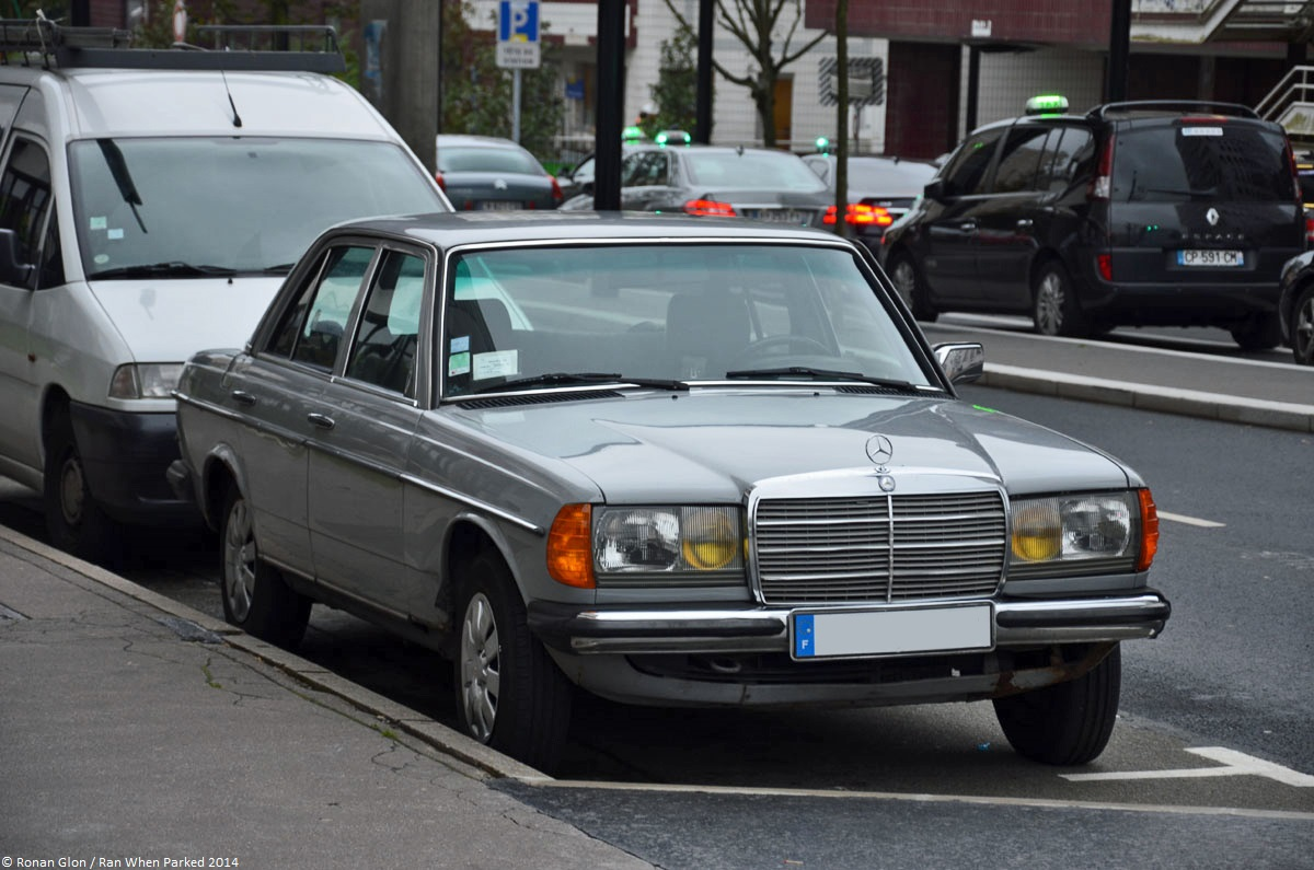 ranwhenparked paris mercedes benz w123 240d 1 ran when parked. Black Bedroom Furniture Sets. Home Design Ideas