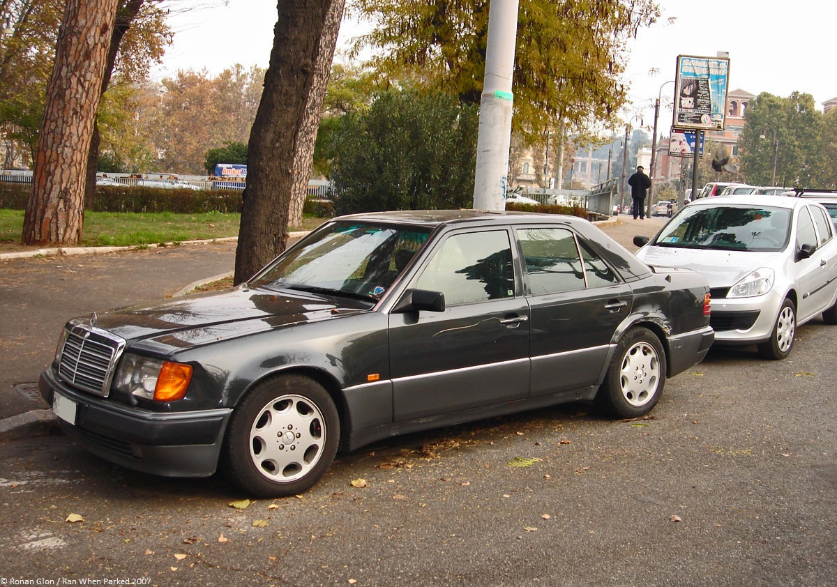 Ranwhenparked rome mercedes benz 500e w124 1 ran when parked for Mercedes benz 500e