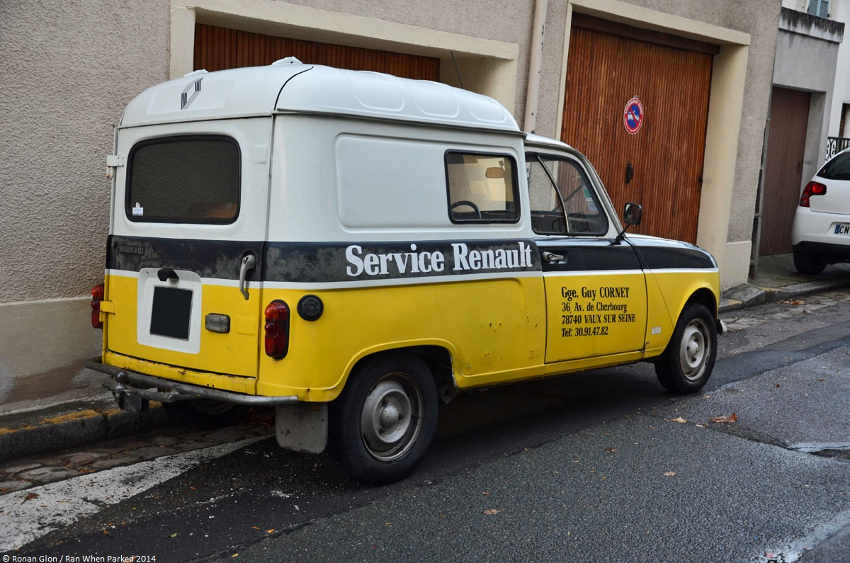 Renault 4 f4 renault service 1 ran when parked for Renault service garage