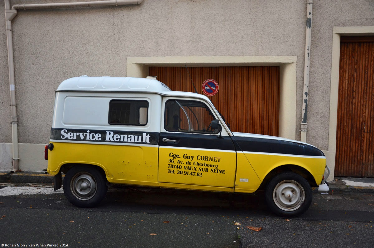 Renault 4 f4 renault service 12 ran when parked for Renault service garage