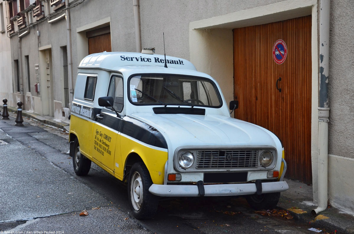 driven daily renault 4 f4 ran when parked