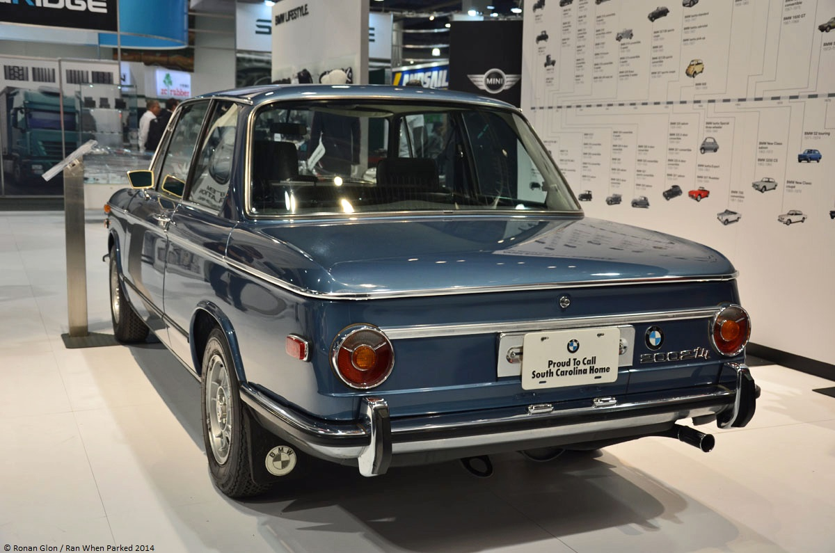 Live From The 2014 Sema Show 1973 Bmw 2002 Tii Ran When Parked