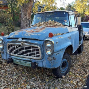 Driven daily: International Harvester B-120