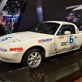 Live from the 2014 SEMA show: The very first Mazda MX-5 racecar