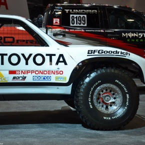 Live from the 2014 SEMA show: Toyota T100 SR5 trophy truck
