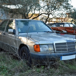 Rust in peace: Mercedes-Benz 190D(w201)