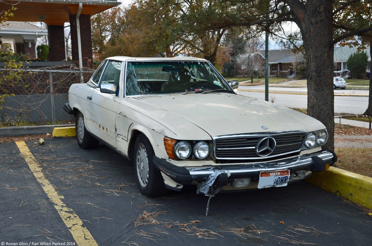 classifieds find mercedes benz 560sl r107 ran when parked