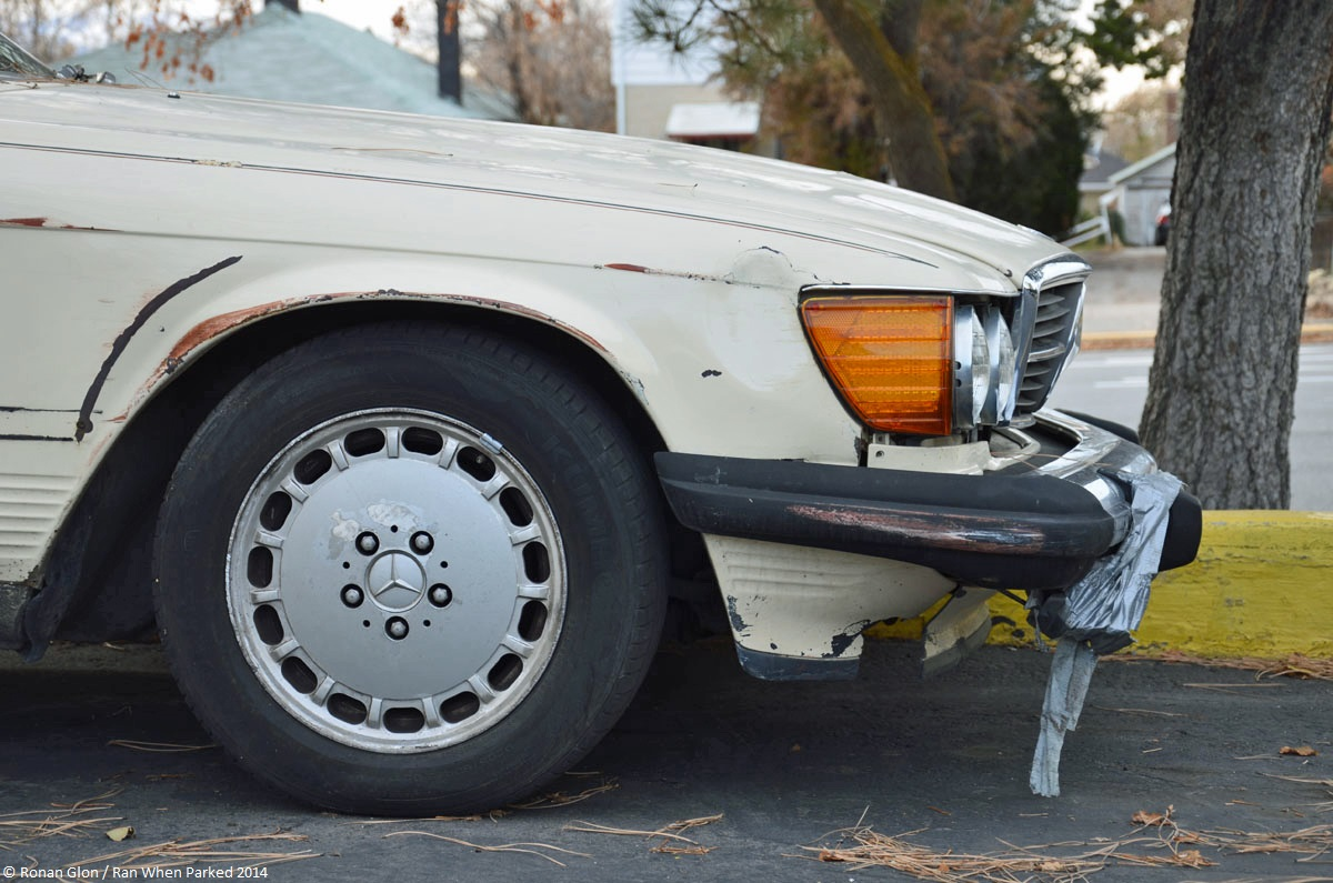 Classifieds find mercedes benz 560sl r107 ran when parked for Buy a mercedes benz